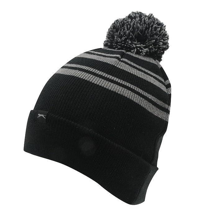 Slazenger para hombre Golf Bobble Knit Beanie Sombreros Gorra de invierno  cálido gorro de invierno deportes  Amazon.es  Ropa y accesorios 73e5247443a