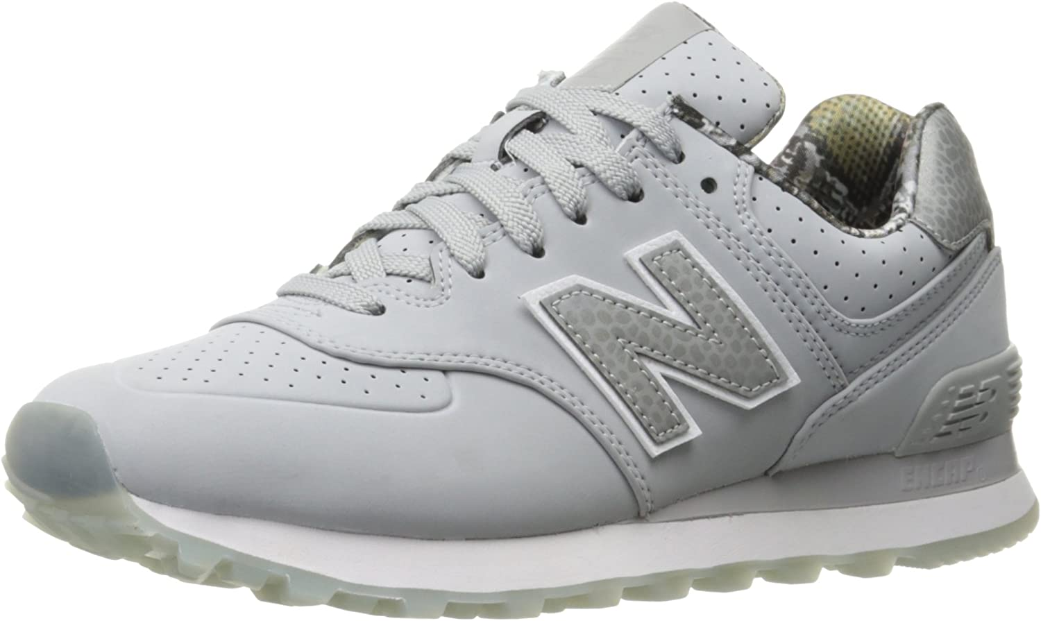 moderno y elegante en moda nuevo diseño estilo popular Amazon.com | New Balance Women's WL574 Luxe Rep Sneaker | Shoes