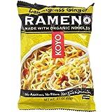 Koyo Natural Foods, Lemongrass Ginger Ramen, 2.1 oz (60 g) (12 Pack)