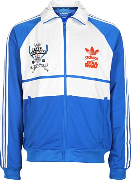 adidas Herren Jacke Star Wars D Track Top Luke Skywalker