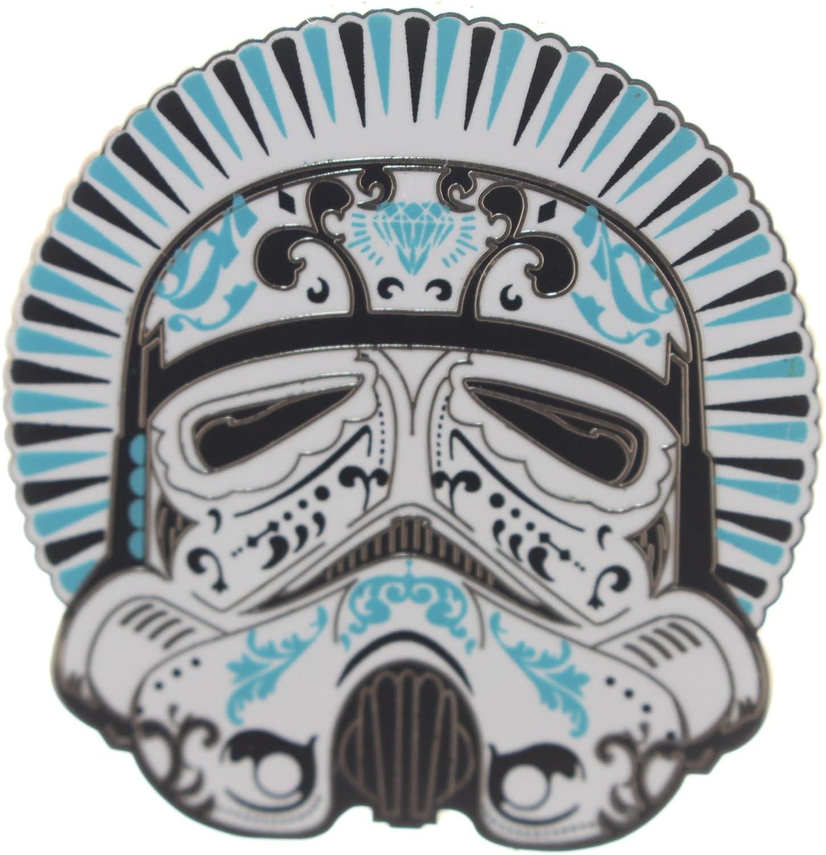 Amazon.com: Disney's Star Wars Day of the Dead Filigree Art Design  Stormtrooper Pin, small: Clothing
