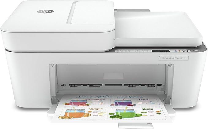 HP DeskJet Plus 4155 Wireless All-in-One Printer, Mobile Print, Scan & Copy