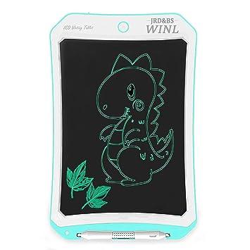 JRD&BS WINL Pizarra ElectrÓNica para Niños De 8.5 Pulgadas,Tableta De Graffiti para Niños, Memo PortÁTil Y Reutilizable, Tablero De Mensajes Familiar, ...