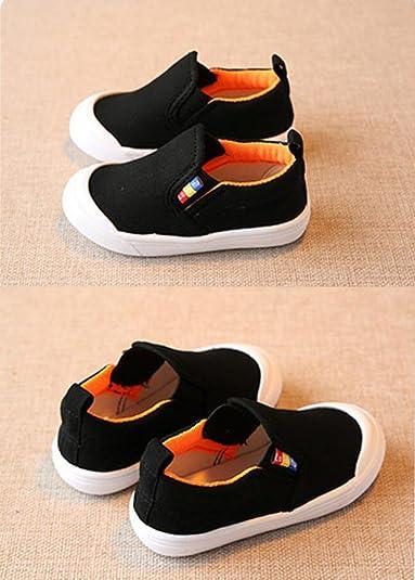 Amazon.com: otamise bebé niñas shoes Pisos de malla ...