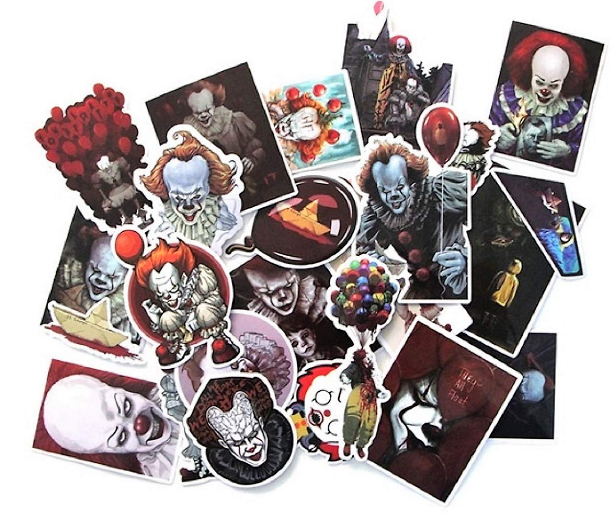 Stephen King/'s IT Penny Wise Decal Stickers Assorted Lot of 24 Pieces