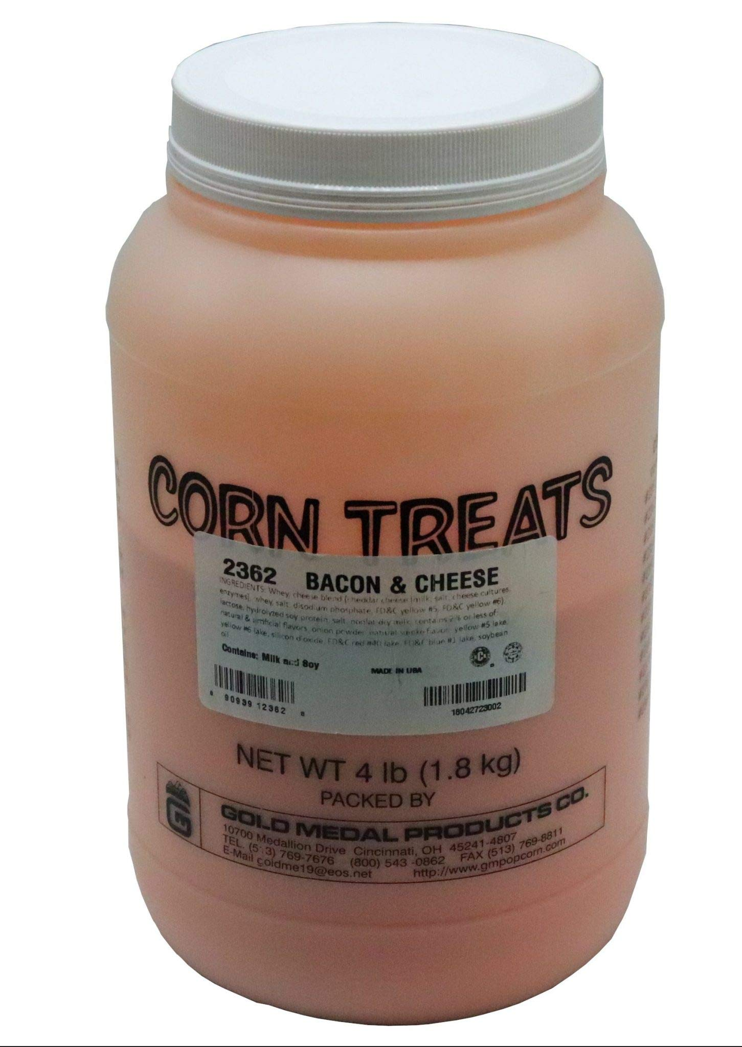 Beach City Wholesalers Savory Shakers Bacon Cheddar Popcorn Seasoning 4 lb jar (1 count)
