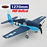 DYNAM RC Airplane F6F Hellcat 1270mm Wingspan - PNP