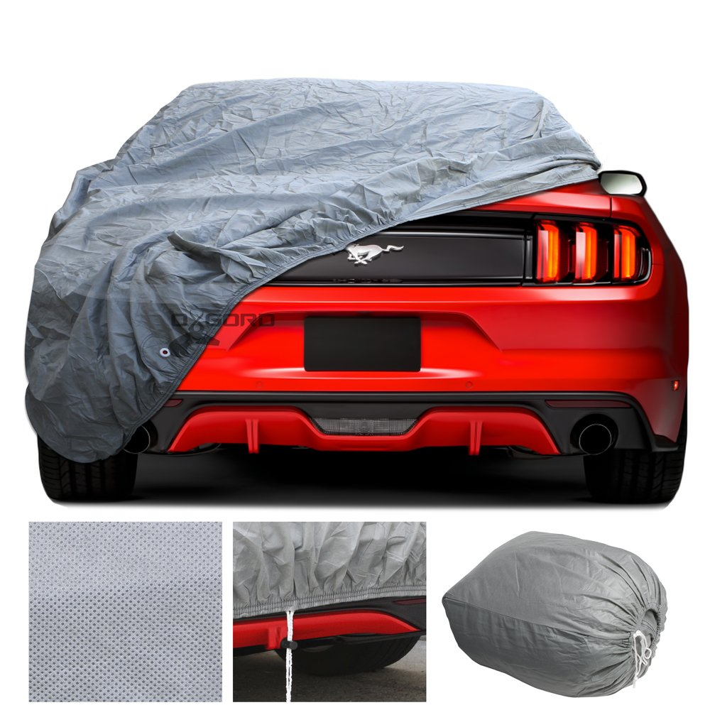 amazon com custom fit car cover for select ford mustang in door