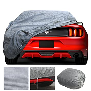 custom fit car cover for select ford mustang in door premium 2 layers