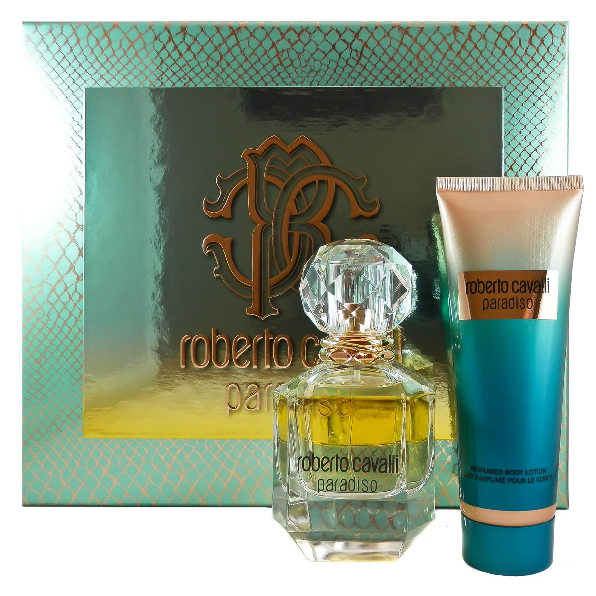 Roberto Cavalli Paradiso femme/woman Set (Eau de Parfum, 50 ml + Körperlotion, 75 ml) 50 ml + Körperlotion 3614223245000