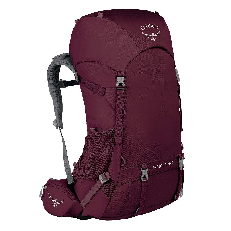 Osprey Packs Renn 50 Women's Backpacking Pack, Aurora Purple, One Size