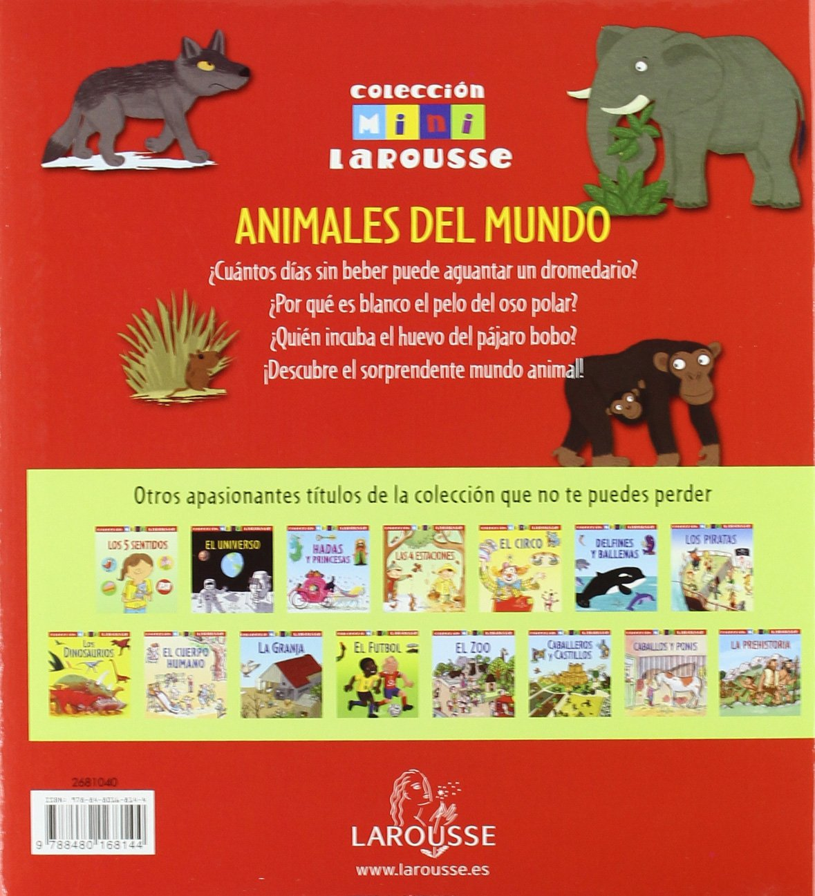 Animales del Mundo Larousse - Infantil/Juvenil - Castellano - A Partir De 5/6  Años - Colección Mini Larousse: Amazon.es: Aa.Vv.: Libros