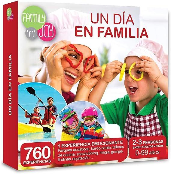 NJOY Experiences - Caja Regalo - UN DIA EN FAMILIA - Más de 760 ...