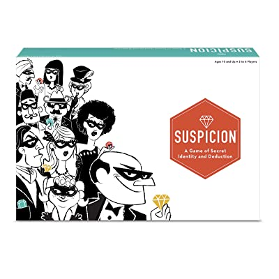 The Wonder Forge Suspicion Family Board Game: Toys & Games