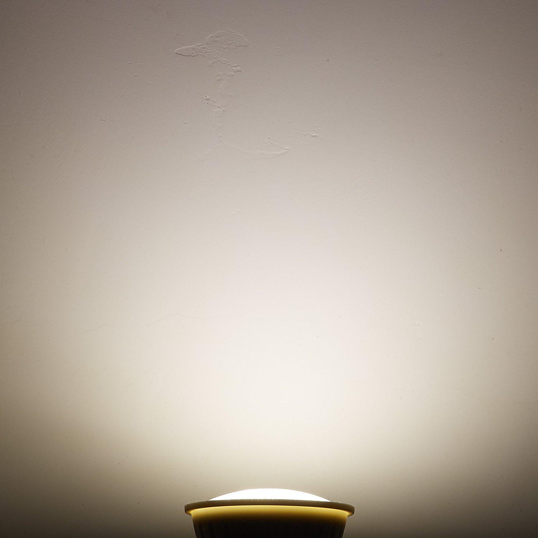 PAR16 LED Dimmable Flood Light Bulbs 3Watt E26 Short Neck 120V AC 30W Halogen Replacement 120 Degree Beam Angle Soft White 3000K Pack of 2