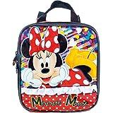Lancheira Escolar, Minnie Mouse, 8924, Vermelho