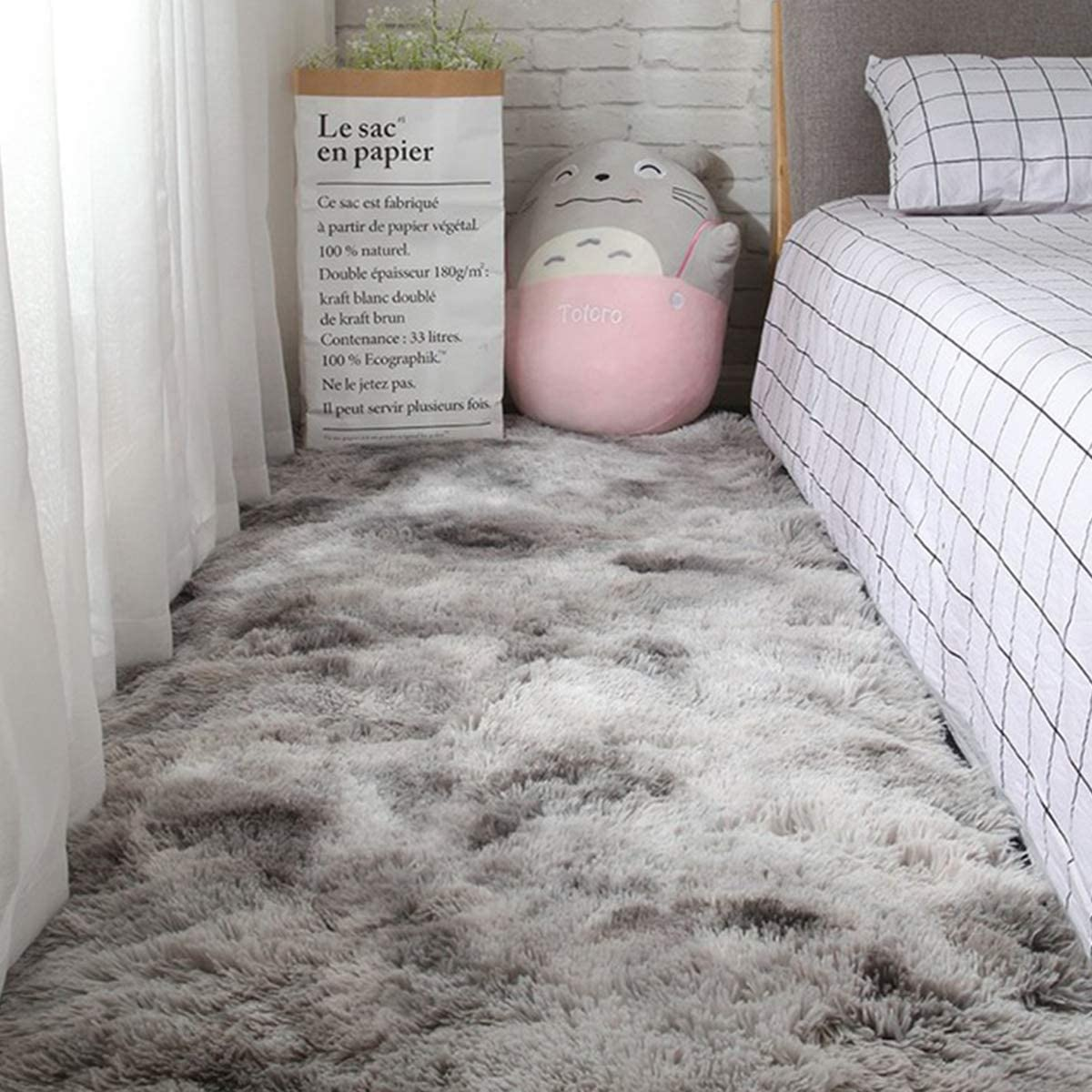 Area Rugs for Living Room, Bedroom, Modern Home Decorate Soft Fluffy Shaggy Indoor Carpet Girls Mat 3X5 Feet