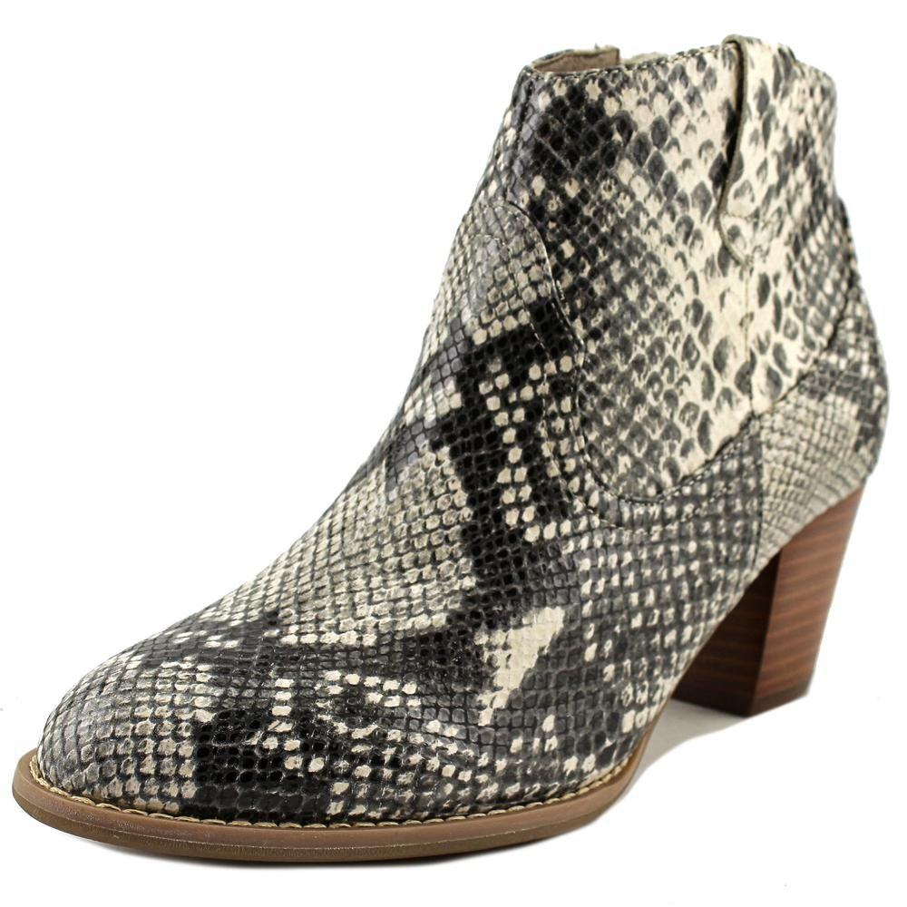 VIONIC Women's Upright Windom Western Ankle Boot Natural Snake Boot