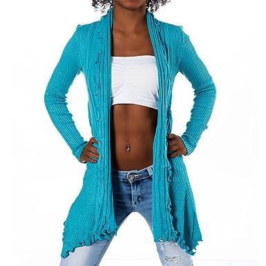 neu billig Online-Verkauf begrenzte garantie Damen Strickjacke Long Cardigan 2025 in versch. Farben