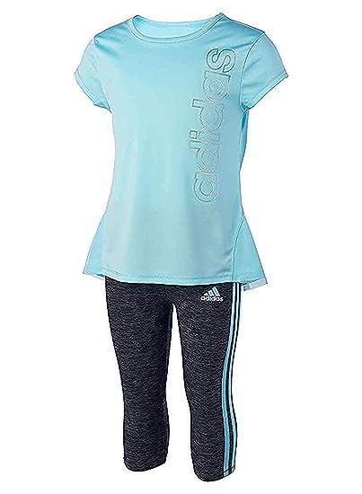 Buy adidas Girls 2 Piece Capri and