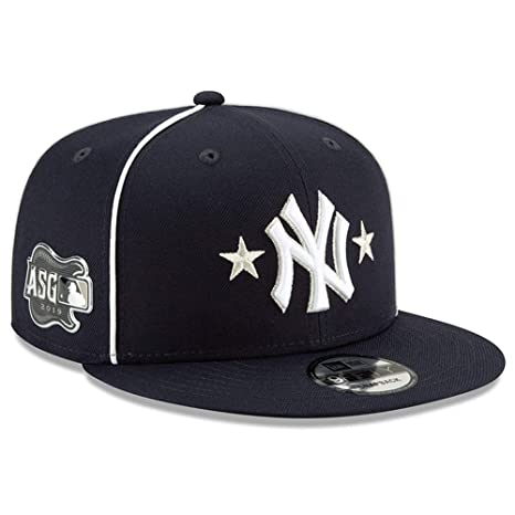 bc128ab9 Amazon.com : New Era New York Yankees 2019 MLB All-Star Game 9Fifty Snapback  Adjustable Hat - Navy : Sports & Outdoors