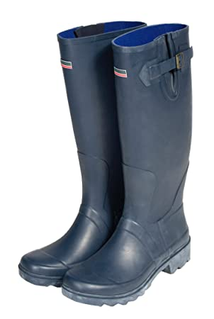 Town & Country 8/ EU 42 Premium Wellington Boots - Navy