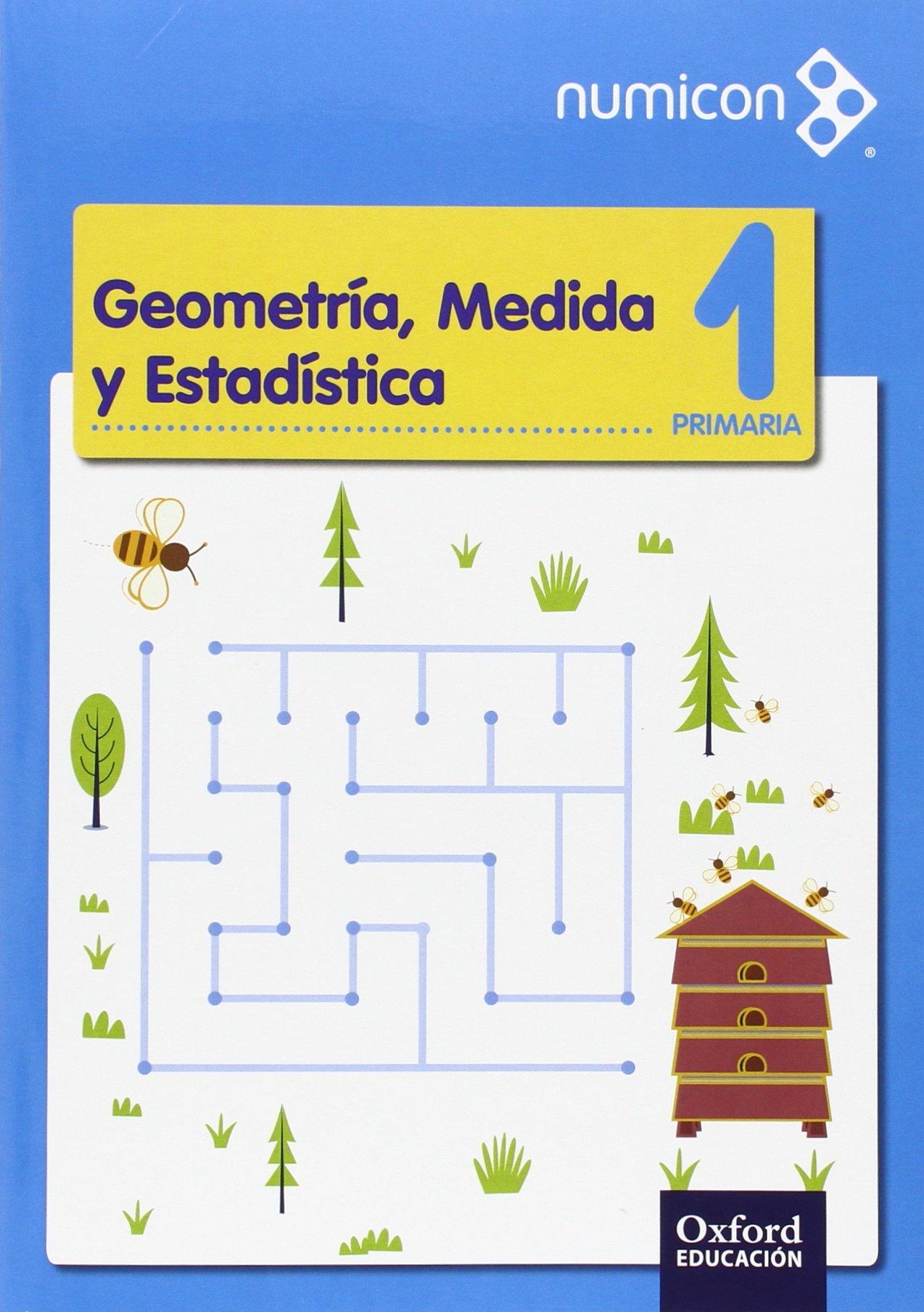 Numicon 1.º Primaria. Geometría Medida. Cuaderno De ...