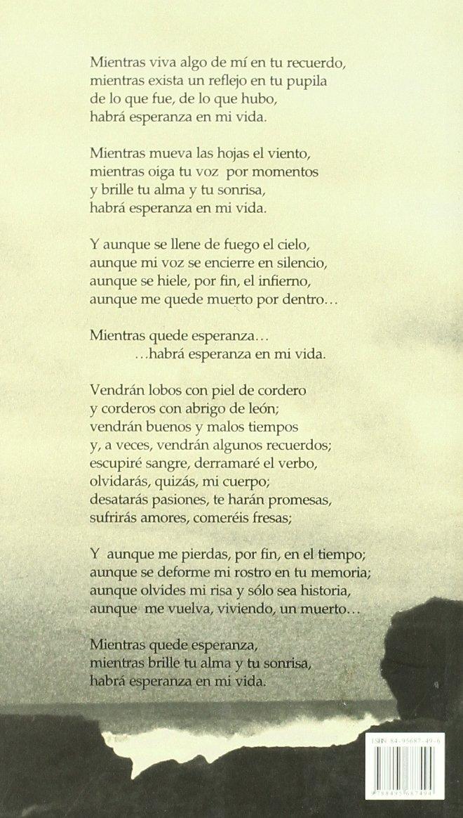 Mientras quede esperanza: Aníbal del Valle Uría: 9788495687494: Amazon.com: Books