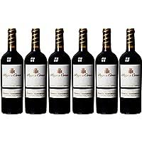 Pago de Cirsus Vendimia Seleccionada, Vino Tinto Seco -  Pack de 6 x 750 ml