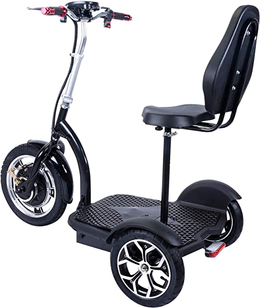 Electric Scooter with Large Wheels, Powerful Motor, Durable Construction, Foldable eScooter