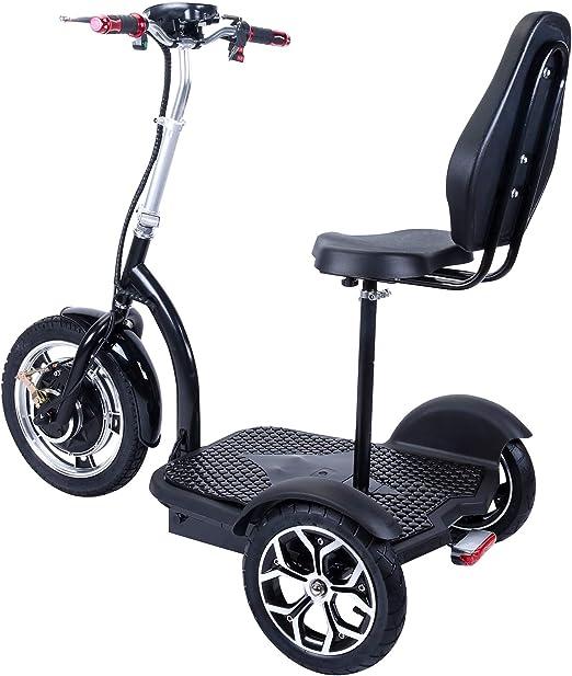 Amazon.com: Patinete eléctrico con ruedas grandes, motor ...