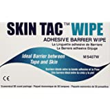 "Torbot IM074407W314832 Group Inc Skin Tac""H"" Adhesive Barrier Prep Wipe, Liquid Form, Latex-Free, Hypo-allergenic (Box of 50 Each), 1 Pack"