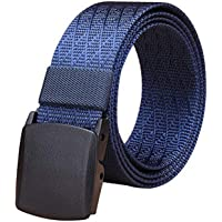 Fairwin Cinturón táctico de nailon para hombre con hebilla cincha estilo militar