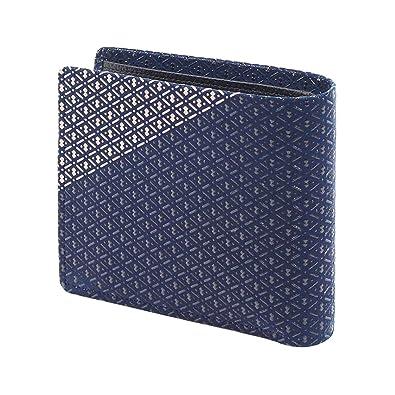 5eaa0e64d1d3 Amazon | INDEN-YA 印傳屋 印伝 財布 二つ折り財布 メンズ 男性用 いおり ...