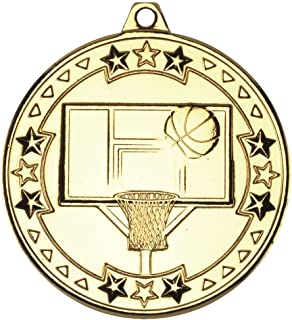 Basket-Ball 'Tri Star' Médaille–Or 2en Lot DE 10