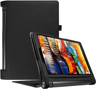 Amazon.com: Fintie Folio – Funda para Lenovo Yoga Tab 3 10 ...