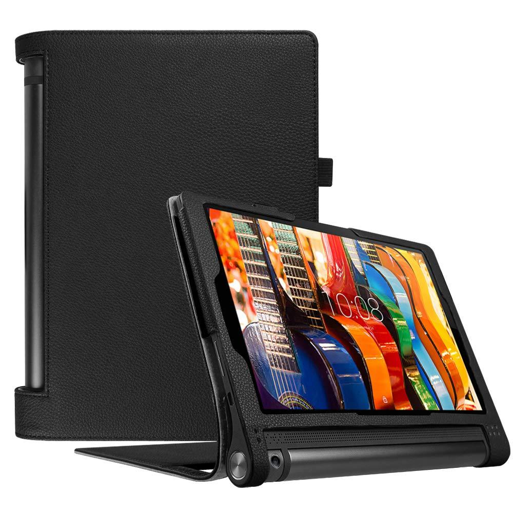 Funda Para Lenovo Yoga Tab 3 10 10.1 (yt3-x50f) Negra Fintie