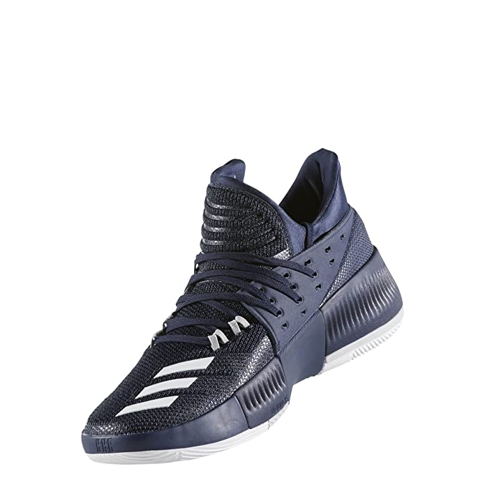new products 55509 9fede Amazon.com  adidas Mens Dame 3 Basketball Shoe  Basketball
