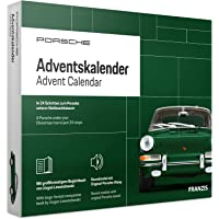 Green Porsche Advent Calendar - Build your own model of this iconic car in 24 days!