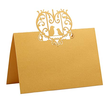 photograph relating to Gold Printable Place Cards identified as : DriewWedding Desk Status Point Playing cards Gold Lace