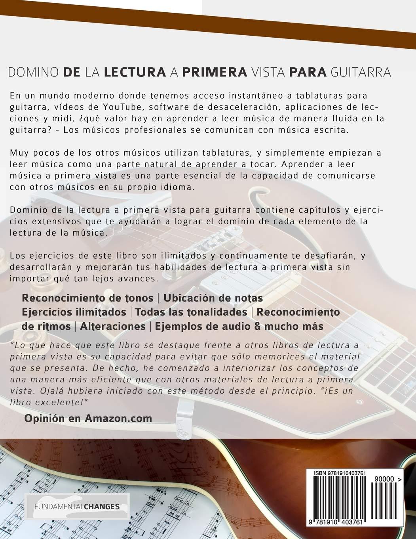 Dominio de la lectura a primera vista para guitarra: Ejercicios ilimitados de lectura y de ritmo en todas las tonalidades: Amazon.es: Mr Joseph Alexander, ...