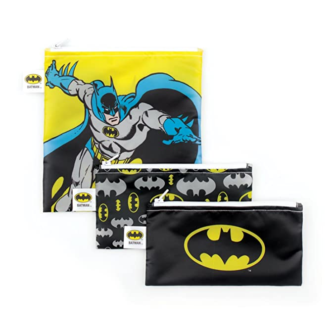 Amazon.com: Bumkins DC Comics Bolsas de sándwich de Batman ...