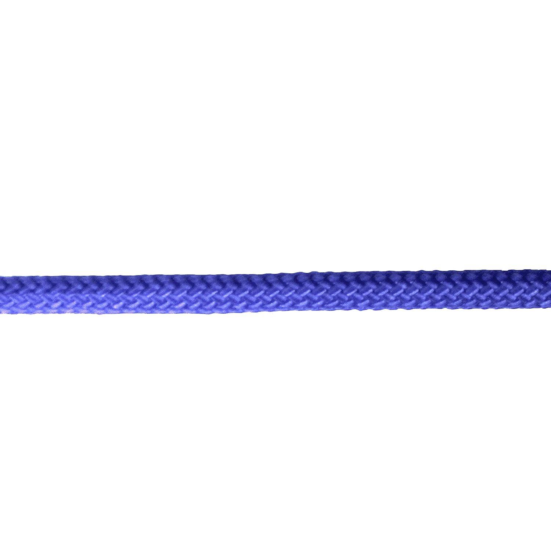 Extreme Max 3008.0277 Blue 3//8 x 50 16-Strand Diamond Braid Utility Rope