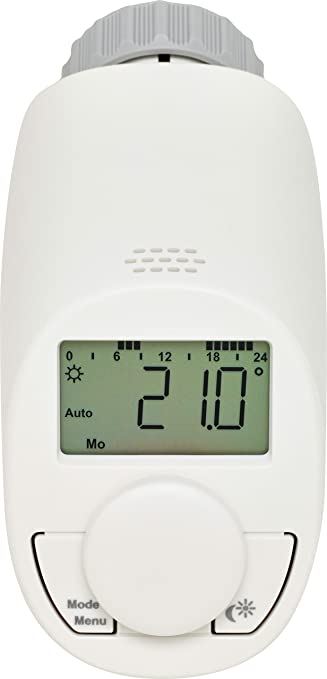 Eqiva CC-RT-N-EQ Gris, Color blanco termoestato - Termostato (Gris, Blanco, M30 x 1.5 mm, IP20, LCD, LR6/mignon/AA, 1,5 V): Amazon.es: Bricolaje y ...