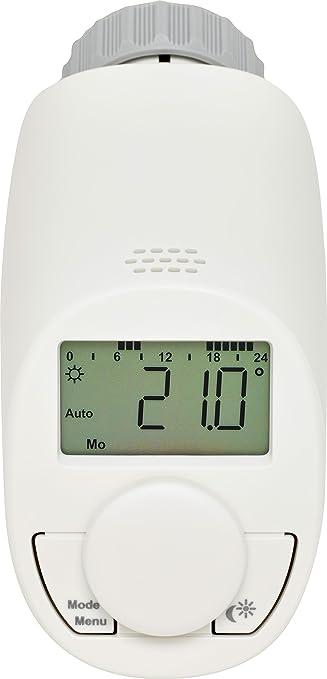 Eqiva CC-RT-N-EQ Gris, Color blanco termoestato - Termostato (Gris, Blanco, M30 x 1.5 mm, IP20, LCD, LR6/mignon/AA, 1,5 V): Amazon.es: Bricolaje y ...