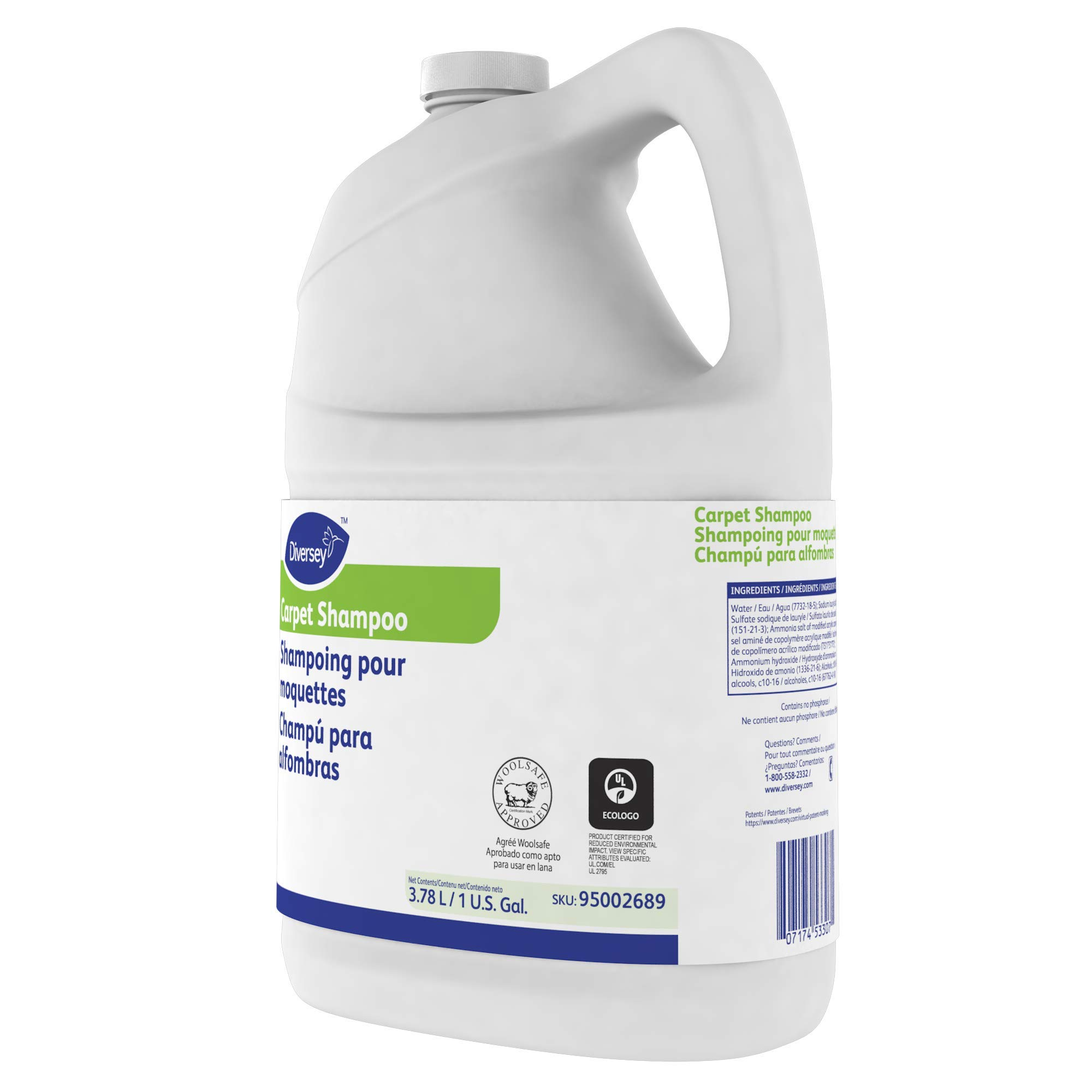 Diversey Carpet Shampoo (1-Gallon, 4-Pack) by Diversey (Image #6)