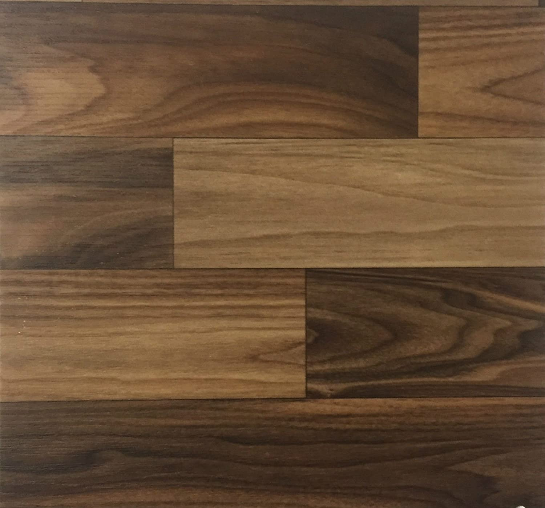 rutschhemmend /& robust CV-Boden wird in ben/ötigter Gr/ö/ße als Meterware geliefert PVC Vinyl-Bodenbelag in Nordic-Walnut-Optik CV PVC-Belag verf/ügbar in der Breite 200 cm /& L/änge 150 cm