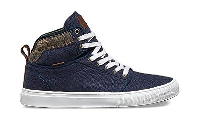 b55fb86db4d30f Vans Mens Alomar (Suiting Clash) Parisian Casual Shoes (6 D(M)