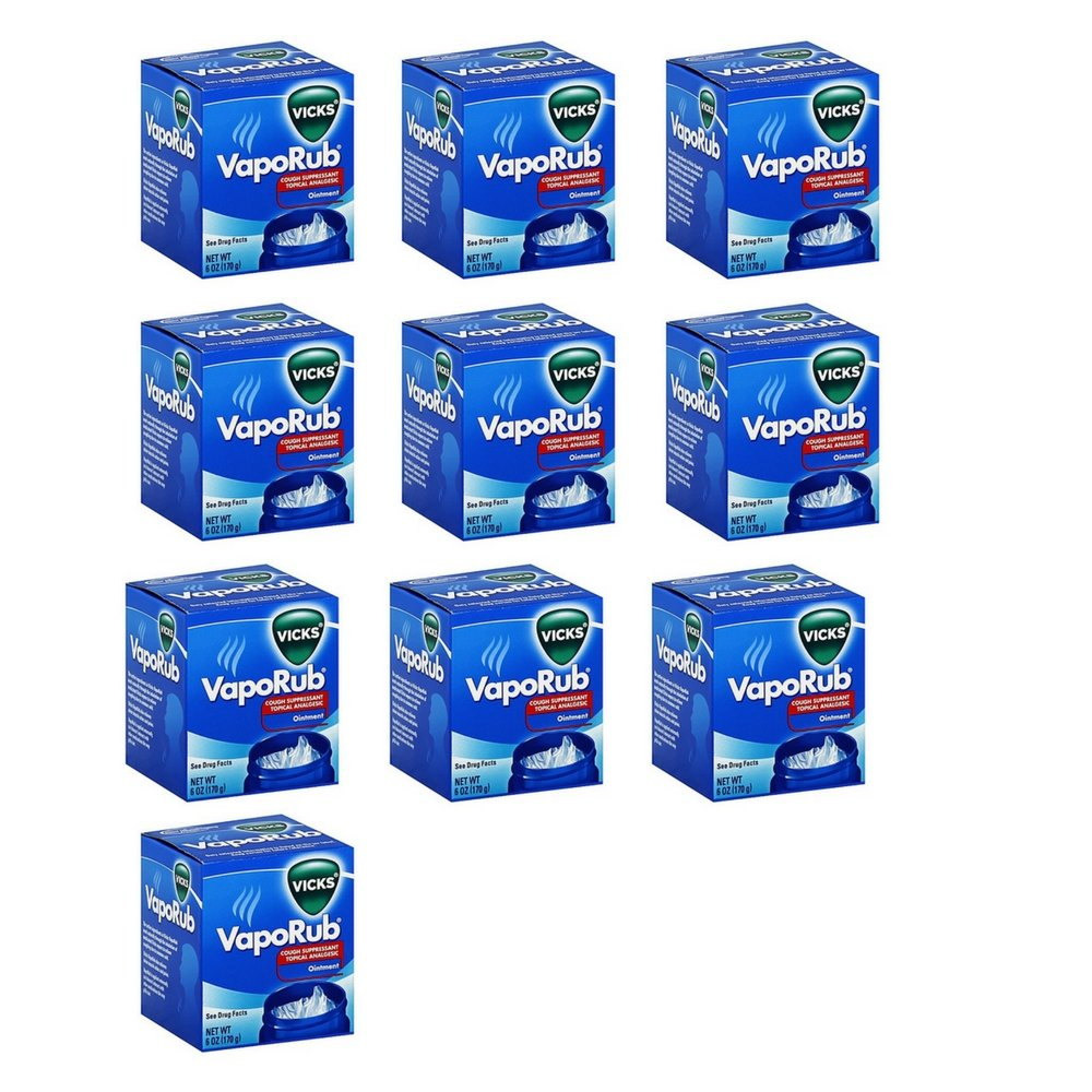 Vicks® 6 oz.Vaporub Jar (10 Pack)