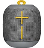 Ultimate Ears WONDERBOOM Phantom Black Super Portable Waterproof and Shockproof Bluetooth Speaker Core Lineup Regular Stone Grey